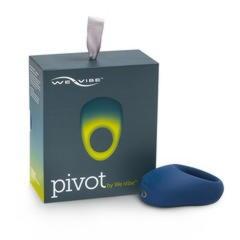 Супер-эластичное эрекционное вибро-кольцо с клиторальным стимулятором Pivot by We-Vibe