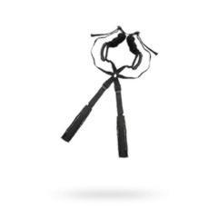 Комплект бондажный Romfun Sex Harness Bondage на сбруе, чёрный
