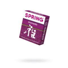 Презервативы Spring Aromantic, ароматизированные, латекс, 19,5 см, 3 шт